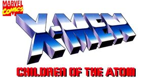 X-Men Children of the Atom Logo 1