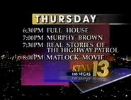 KTNV-TV Channel 13 promo It Must Be ABC 1992-1994