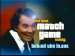 The Real Match Game Story Behind the Blank