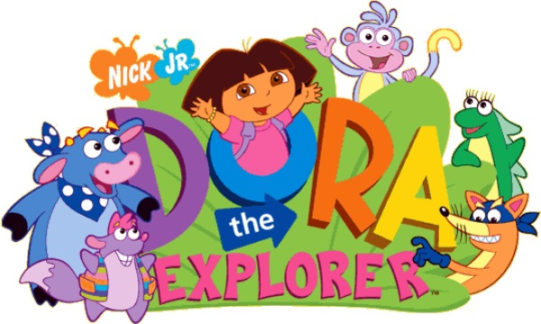 Dora the Explorer logo Wallpaper at Wallpaperist