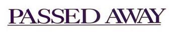 Passed Away movie logo