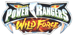 Saban´s Power Rangers Wild Force Logo