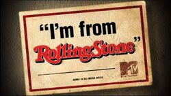 I'm From Rolling Stone