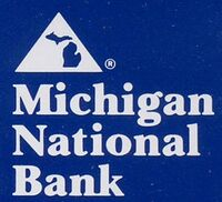 Michigan National bank Logo