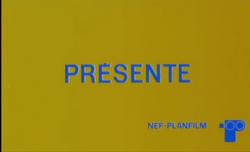 Nef Planfilm Presents 1973 Logo
