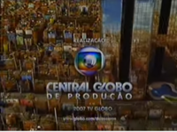 Duas Caras seal short Globo 2005-2008 logo 2007