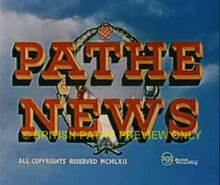 Pathe news