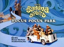 Poster of the movie The Banana Splits in Hocus Pocus Park