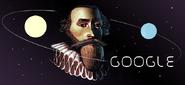 Google Johannes Kepler's 442nd Birthday