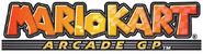 Mario Kart Arcade GP logo