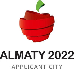 Almaty 2022 Applicant city logo