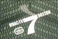 WNAC TV 7 Boston ID Slide from the mid 60 s