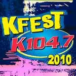 WSPK-FM's K104's K-Fest 2010 Logo From 2010
