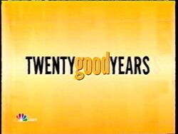 Twenty Good Years