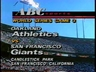 ABC Sports' The 1989 World Series - Game 3, Oakland Athletics Vs. San Francisco Giants Video Open From Tuesday Night, October 17, 1989