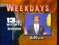 WVTM-TV Channel 13 The New Newleywed Game promo 1987
