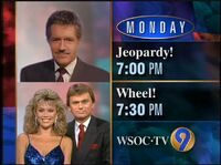 WSOC-TV promo Jeopardy and Wheel of Fortune 1994