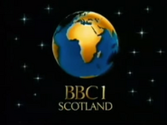BBC One Scotland Christmas 1986 ident