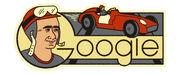 Google Juan Manuel Fangio's 105th Birthday