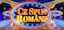Ce Spun Romanii with Set Background