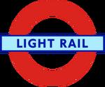 London Transport Light Rail roundel small