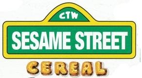 Sesame Street Cereal logo