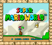 Super Mario World (U)