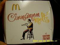 McDonalds Cinnamon Melts 2007 Logo