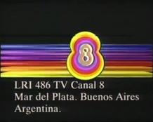 Lri 486 TV Canal 8 Mar del Plata
