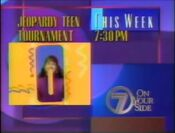 WJLA Jeopardy Tenn Tournament promo 1991