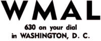 WMAL Washington 1947