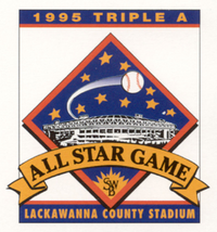 1995 Triple-A All-Star Game logo