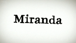 Miranda (TV series) title