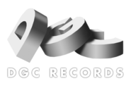 DGC Records logo, 1990