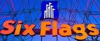Six Flags 1996-1998 logo