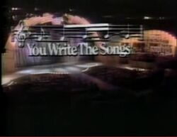 You Write the Songs