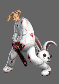 Lollipop Chainsaw Skins Bunny Rabbit Plushie Suit 01