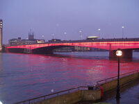 London Bridge Illuminated