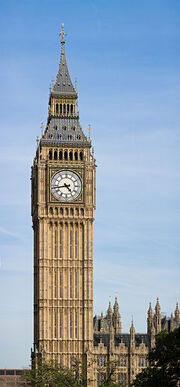 Clock Tower - Palace of Westminster, London - September 2006-2