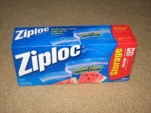 Gallon Ziploc box