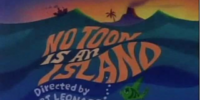 No Toon Is An Island