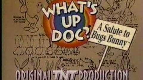 TNT 1990 What's Up Doc A Salute to Bugs Bunny Bumper 1