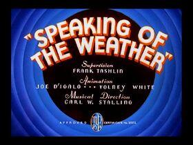 Speaking weather1