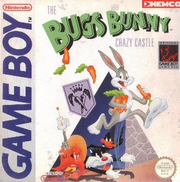 Crazy Castle Game Boy Cover