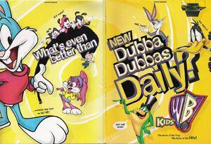 KidsWB print ad 1997-folded in