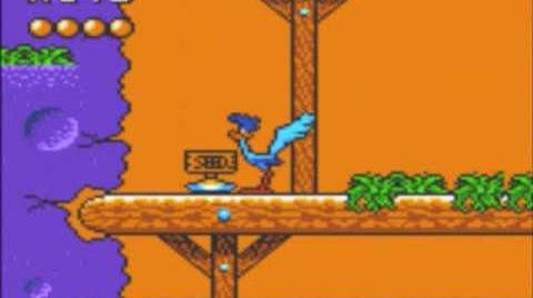 Desert Speedtrap (Sega GameGear) - Walkthrough - Level 8 - Coyote Canyon-0