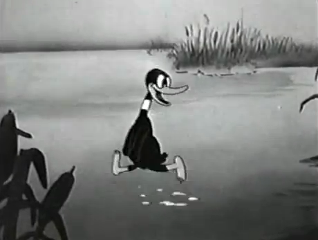 File:Daffy Duck 1937 Animation by Bob Clampett.png