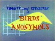 Birds anonymous