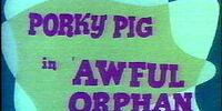 Awful Orphan