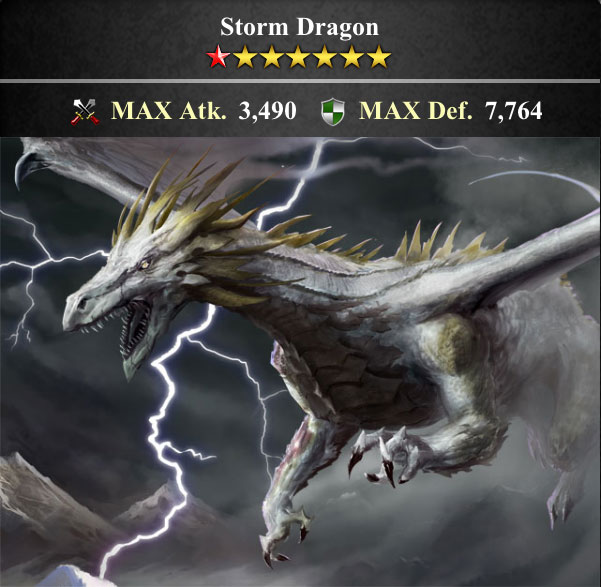 Lord Of The Dragons Wiki: Storm Dragon (Evolution I)